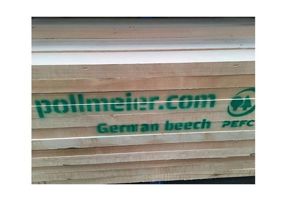 Pollmeier parallel Buche, Superior 52 mm, 2150 mm